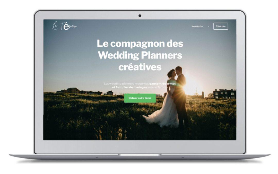 J'ai testé «Wedding-Bear» (ex Le Témoin), la plateforme «pour les wedding-planners modernes» !